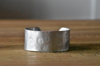 aluminum cuff plain